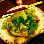 Boiled Cabbage in Oyster Sauce