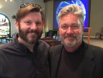 Me with Robin Meyers at The Fountains UMC in Fountain Hills, AZ.