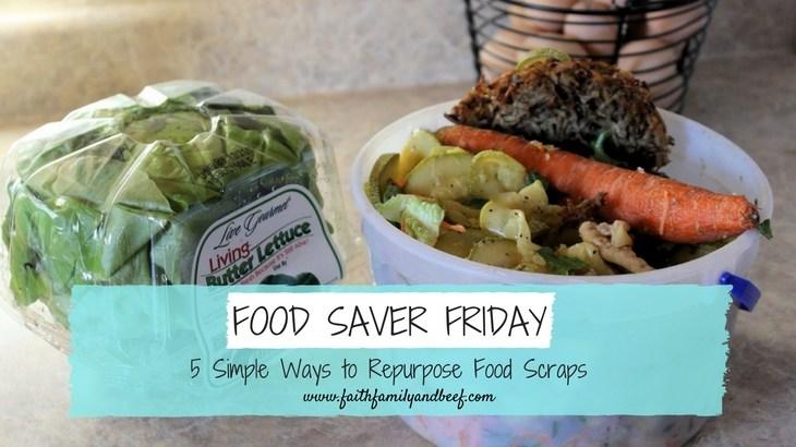 5 Simple Ways to Repurpose Food Scraps