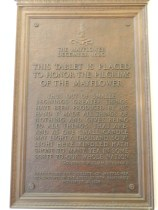 plaque mayflower, in NH capitol