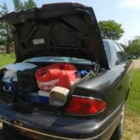 A Rental Car on an RV Road Trip