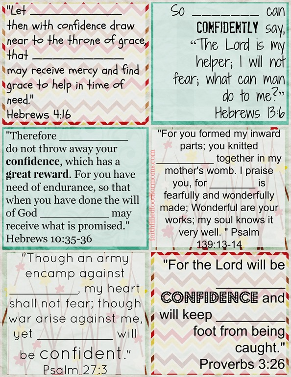 Printable-Bible-Verse-Cards-to-Personalize-on-Confidencejpg \u2022 Faith