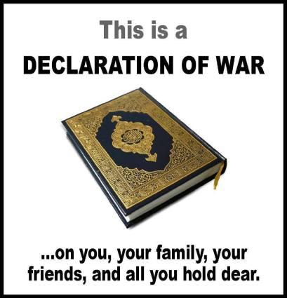 Quran declaration of war eric allen bell