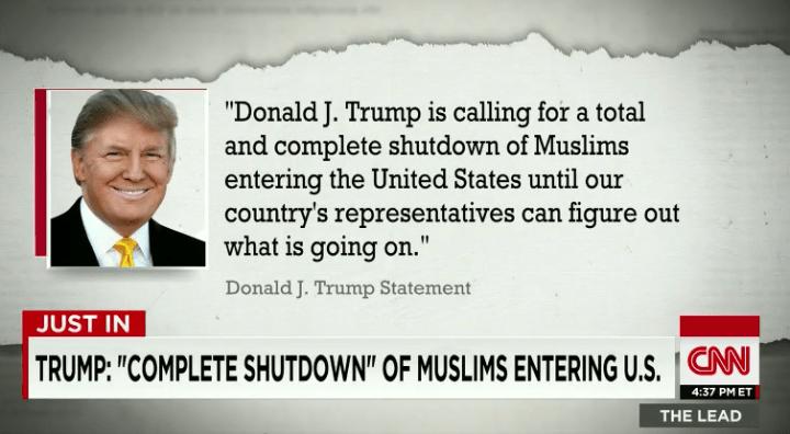 trump muslim