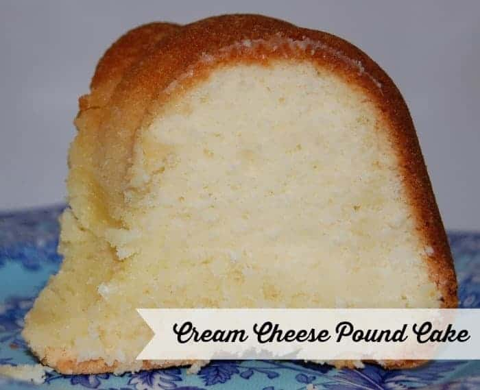 Cream Cheese Pound Cake | Faithfully Free