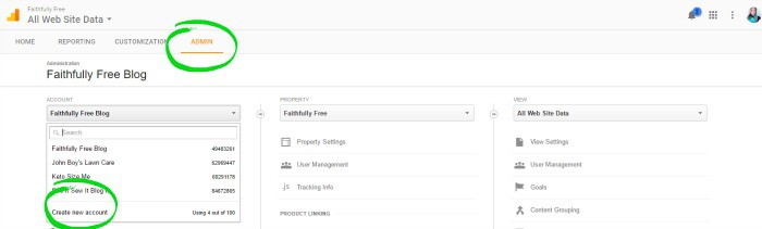 how to add another website to google analytics