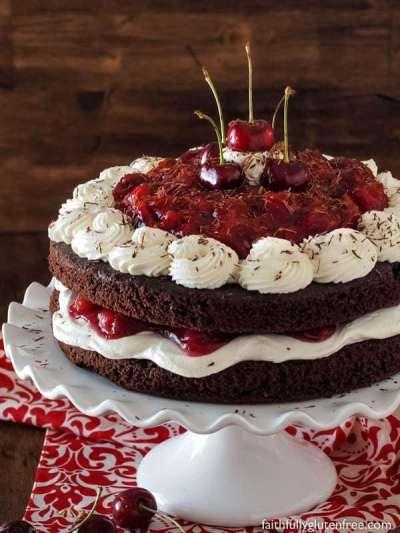 Easy Black Forest Cake Recipe — Dishmaps