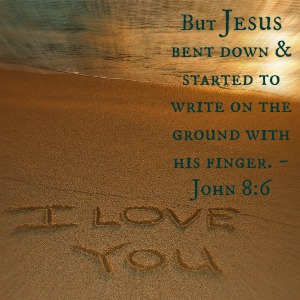 Sad Love Quotes For Him Wallpaper What Did Jesus Write On The Ground Faithgateway
