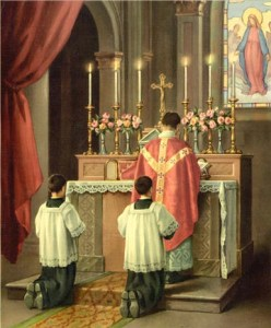 Reading the epistle: For centuries, Scripture at weekday Masses was quietly read in Latin by a priest with his back to the congregation