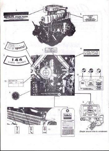 1961 ford falcon Schaltplang