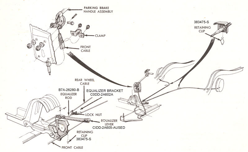 1966 mustang fuel line diagram