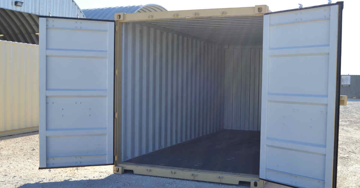 9 Things To Consider When Buying A Conex Container