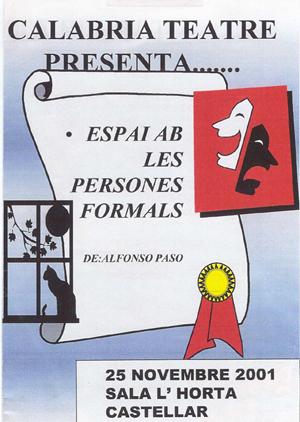 CARTEL TEATRO 2001-02