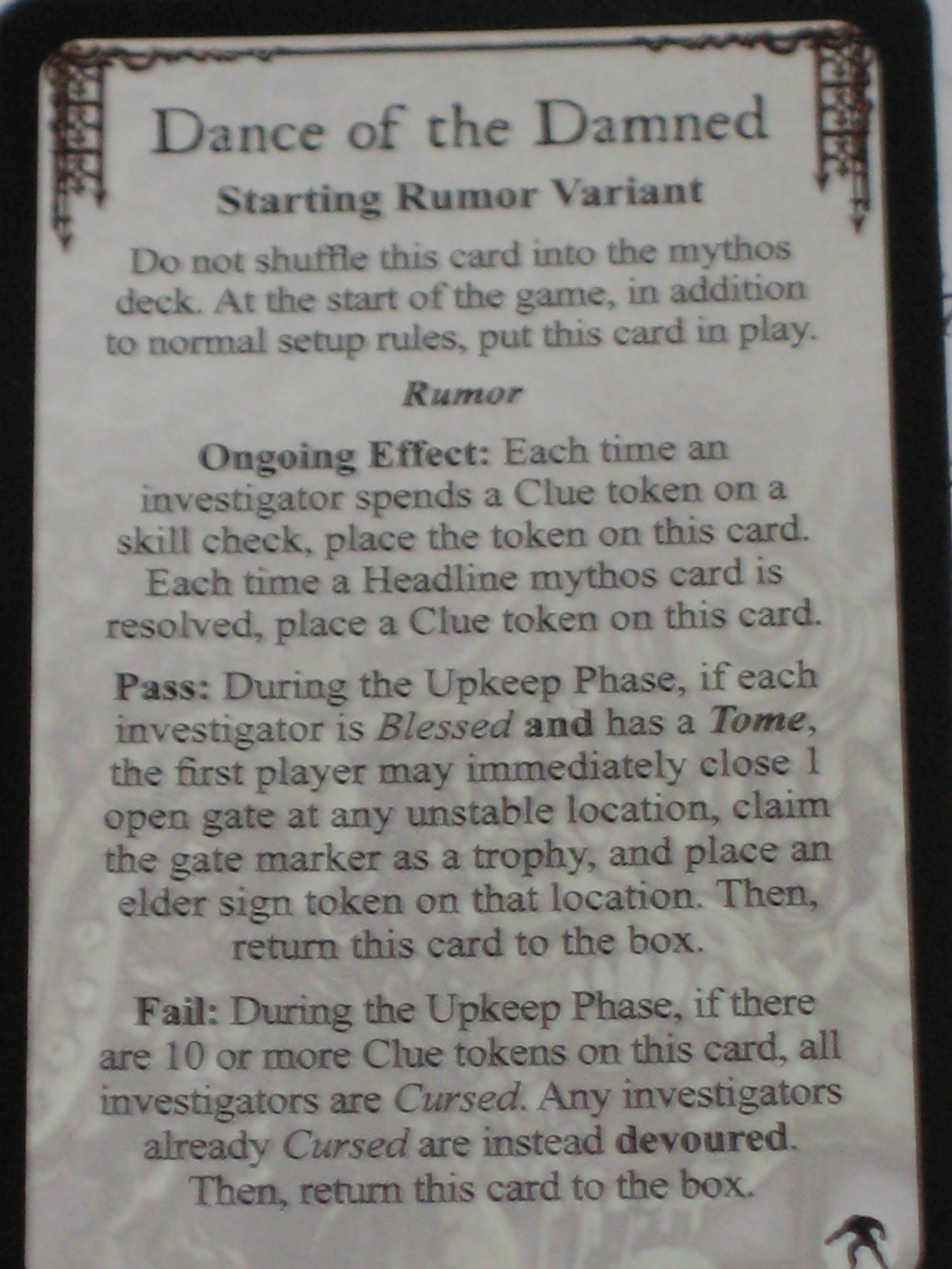 New Arkham Horror Cards!