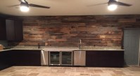 McGill's Reclaimed Wood Wall Project | Fama Creations