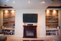 Reclaimed Wood Living Room - Frasesdeconquista.com