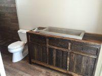Robbie's Rustic Reclaimed Wood Bathroom Vanity | Fama ...