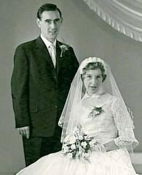 Wegen, Cornelis P.J. van der 02.11.1934 & Anna C.A. Konings (trouwfoto)