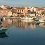 Carro un port de pêche de la Côte Bleue