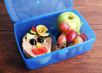 Back to School Lunch, Think Outside the Box