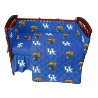 University of Kentucky Wildcats Crib Bed in a Bag - Blue