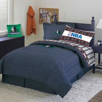 Minnesota Timberwolves Team Denim Queen Comforter / Sheet Set