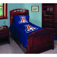"Arizona Wildcats NCAA College Twin Comforter Set 63"" x 86"""