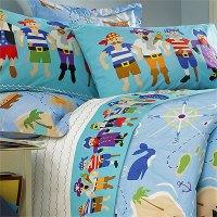 Pirates Queen Comforter / Sheet Set
