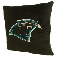 """Carolina Panthers NFL 16"""" Embroidered Plush Pillow with ..."""