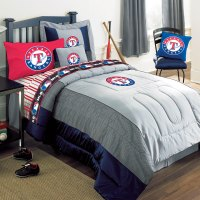 Texas Rangers MLB Authentic Team Jersey Bedding Full Size ...