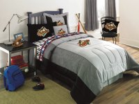 Baltimore Orioles Bedding MLB Authentic Team Jersey Twin