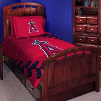 "Los Angeles Angels MLB Twin Comforter Set 63"" x 86"""