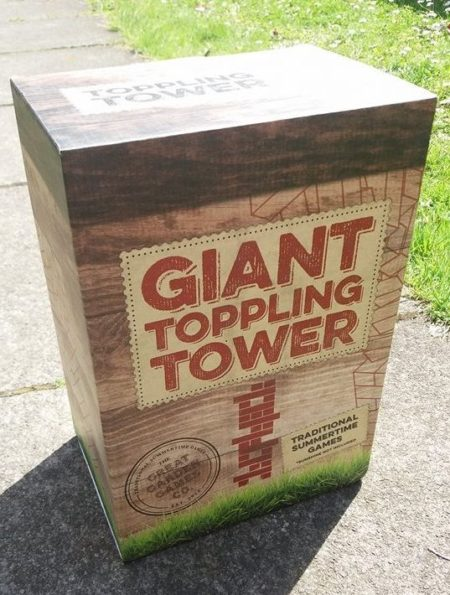 Giant Toppling Tower Review from Prezzybox.com