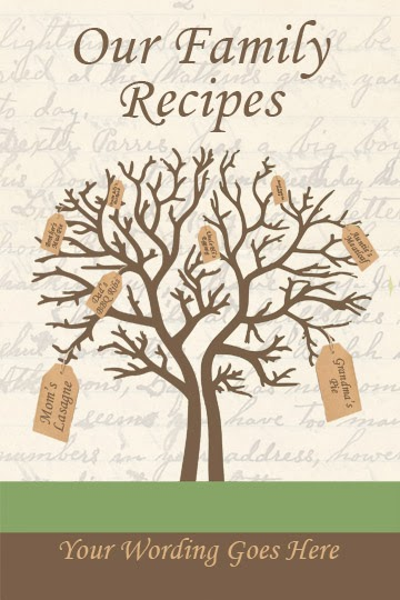 printable recipe templates