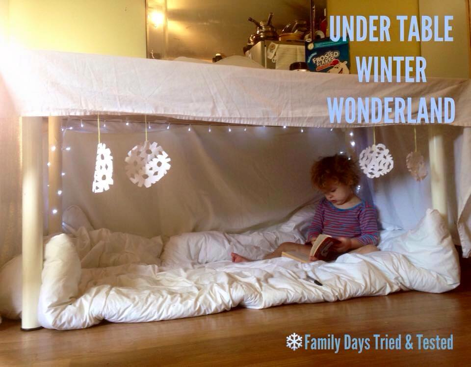 how to make a table tent