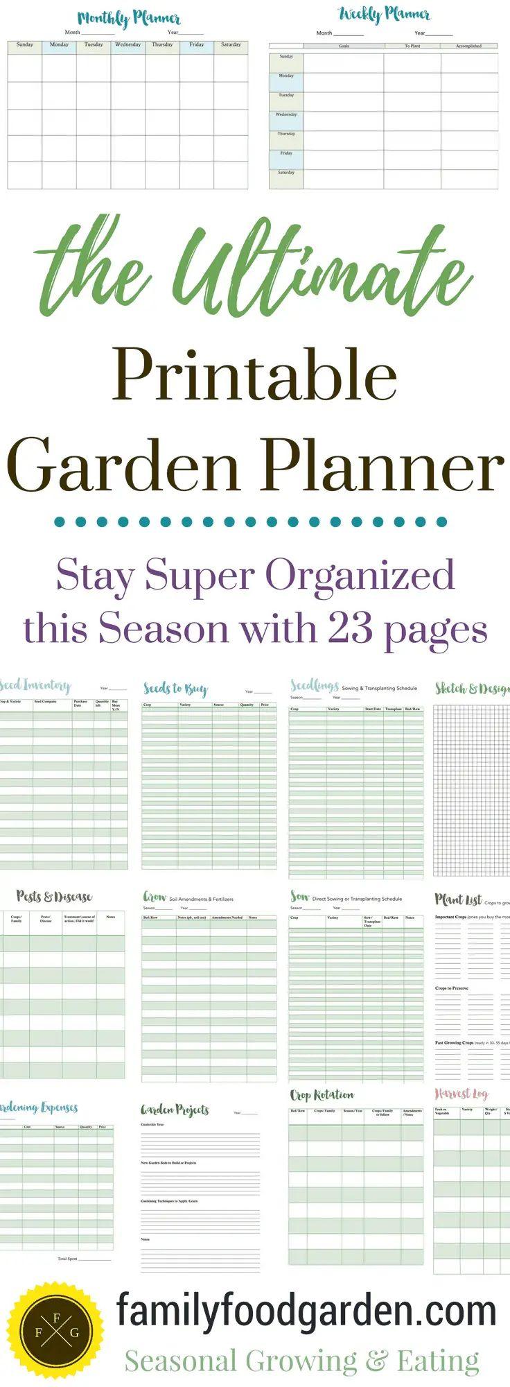 free garden layout planner