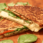 crab and peas Quickie crab dip Grilled chicken and mozzarella panini ...