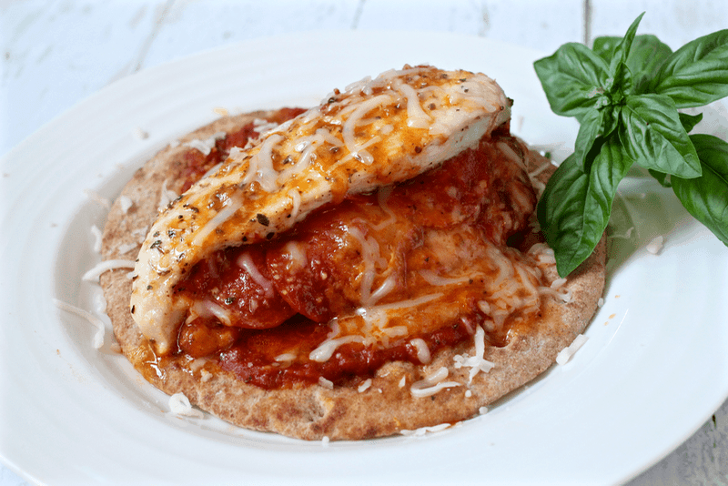 Pizza stuffed chicken breasts are easy to throw together for a fun ...