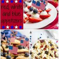 3 easy red, white and blue July 4th appetizers
