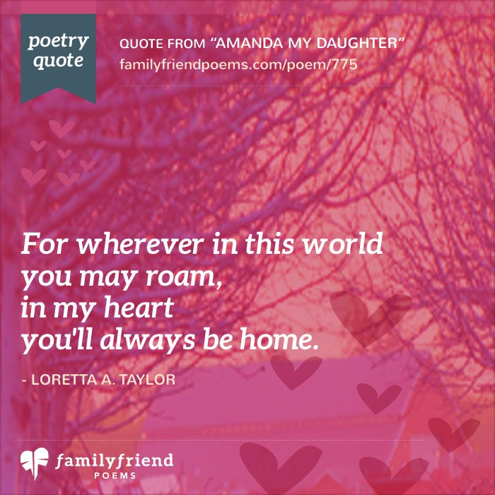 52 Daughter Poems - Loving Mother and Father Poems for Daughters