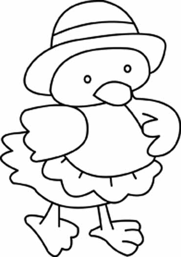 Original Easter Coloring Pages You Are Going To Color In