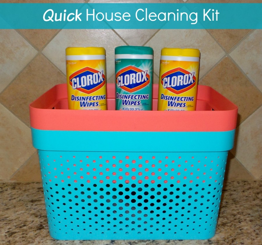 Quick House Cleaning Kit - Family Fun Journal