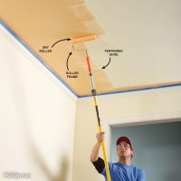 Best Way To Paint A Ceiling With Roller | Integralbook.com