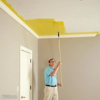 How to Paint a Ceiling | The Family Handyman