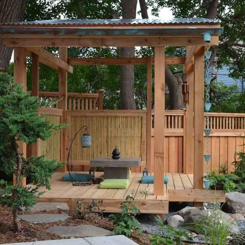 Engrossing Outdoor Tea Room Hardscaping Ideas Your Yard Family Handyman Hardscaping Backyard Ideas Hardscape Backyard Ideas Designs