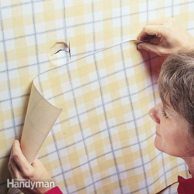 How to Repair Damaged Wallpaper | The Family Handyman