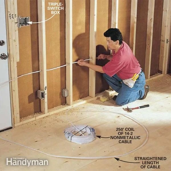 How to Rough-In Electrical Wiring The Family Handyman