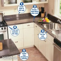 How to Install a Countertop | The Family Handyman