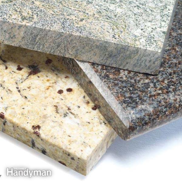 Buying Countertops Plastic Laminates, Granite, and Solid Surfaces