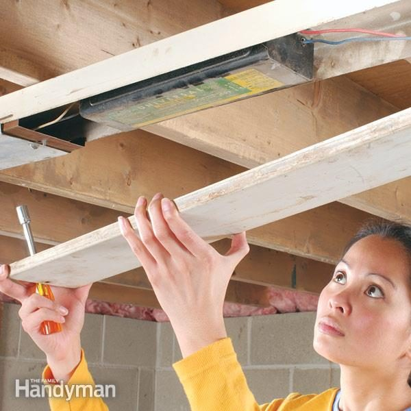 How to Replace Fluorescent Lights Ballast The Family Handyman